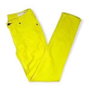 Rag & Bone yellow skinny jeans, The Legging, 29